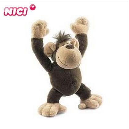 1pcs 22cm Lovely NICI Monkey Stuffed animals Soft toy PLUSH TOY NEW kids toy(China (Mainland))