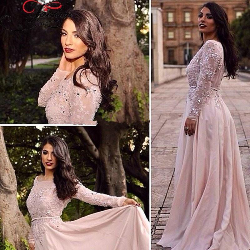 Size Prom Dresses Long Sleeve