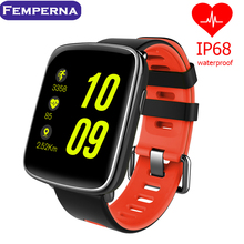 Buy Femperna 2017 New GV68 Bluetooth Smart Watch IP68 Waterproof Smartwatch Message Call Reminder Heart Rate IOS Android Phone for $52.99 in AliExpress store