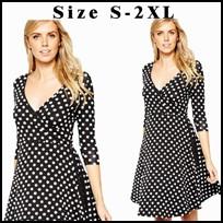 Большой размер великолепная женщины площадь шеи рукавов кнопки деловых оболочка Bodycon винтаж карандаш миди платье 742