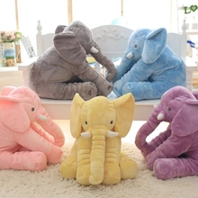 Buy 1pcs big size 60cm Infant Soft Appease colorful Elephant Playmate Calm Doll Baby Toys Elephant Pillow Plush Toys Stuffed Doll for $20.20 in AliExpress store
