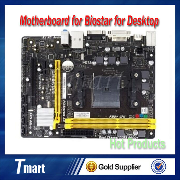 Фотография Cheap shipping for Biostar A68MHD2 motherboard for desktop for AMD A10 A8 A6 A4 E2 Athlon II X4 for FM2 FM2+ for A68H for DDR3