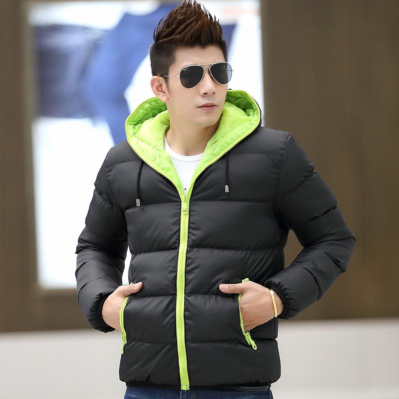 Hot Sale Brand Winter Jacket Men Down Jacket Cotton Down Jacket Men Winter Coat Casual Jacket For Men,Size M-4XL,3 Color ,8039(China (Mainland))