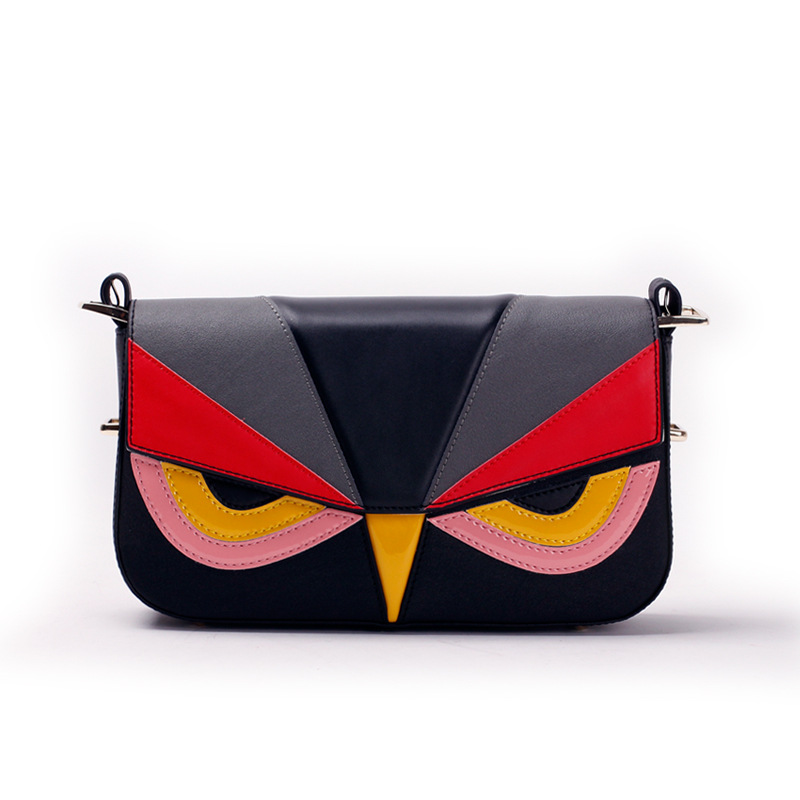 2016 New arrival Peekaboo Mini bag, Women FE hottest fashion lovely real leather monster mini shoulder bag,free shipping<br><br>Aliexpress