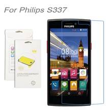 For Philips S337,3pcs/lot High Clear LCD Screen Protector Film Screen Protective Film Screen Guard For Philips S337