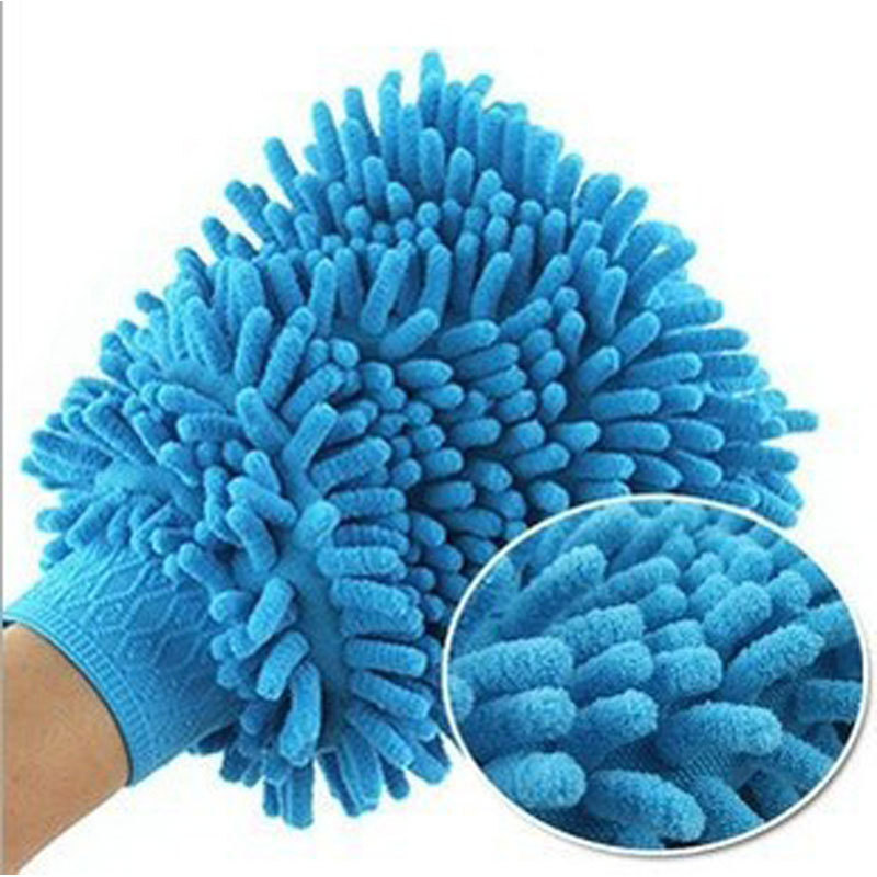 Car Glass Super Mitt Microfiber Car Window Washing Home Cleaning Cloth Duster Towel Glove Clean Cloth Kitchen Towels Rags Rag(China (Mainland))