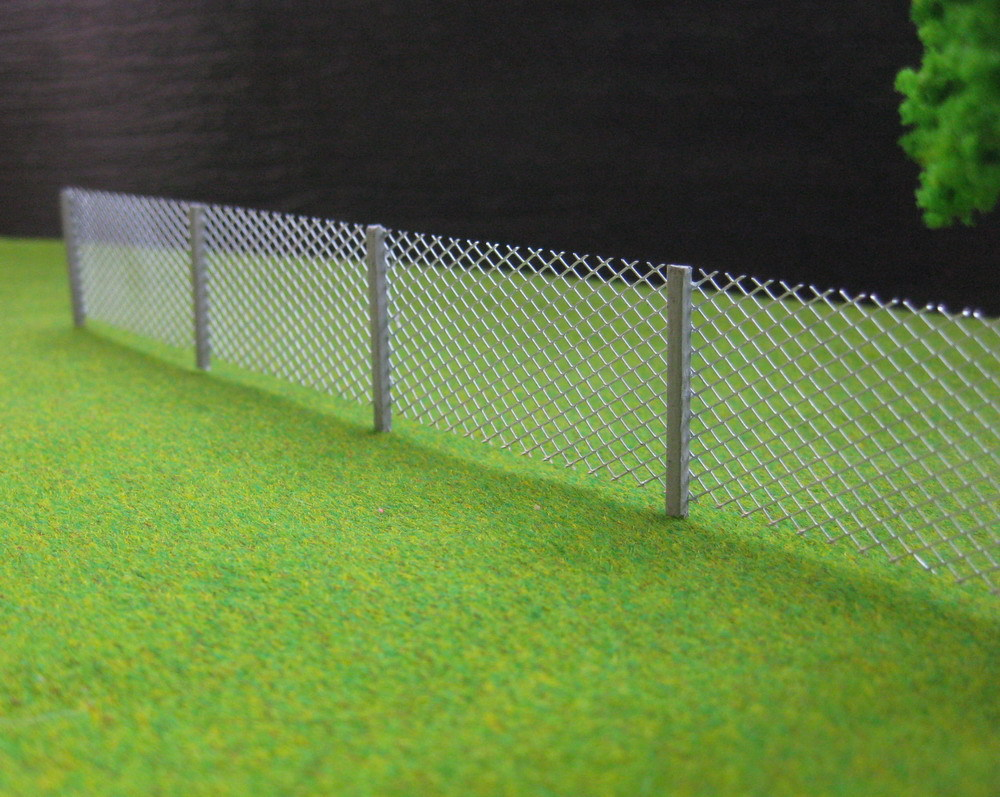 LG8705 1 Meter Model mesh fencing chain link 1:87 HO Scale new(China (Mainland))