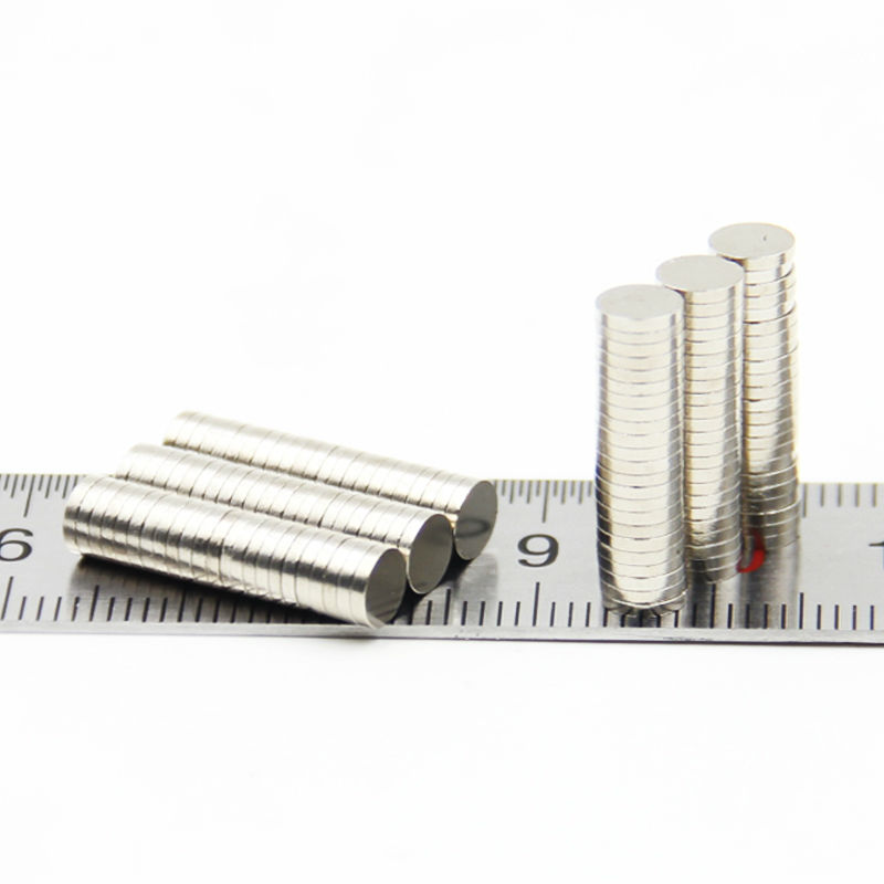 Retail Wholesale 500pcs 5mm x 1mm Disc Rare Earth Neodymium Super Strong Magnets N35 Craft Model(China (Mainland))