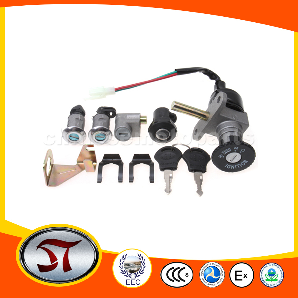 Ignition Switch Assy for 50cc-150cc Scooter+ best quality and best price(China (Mainland))