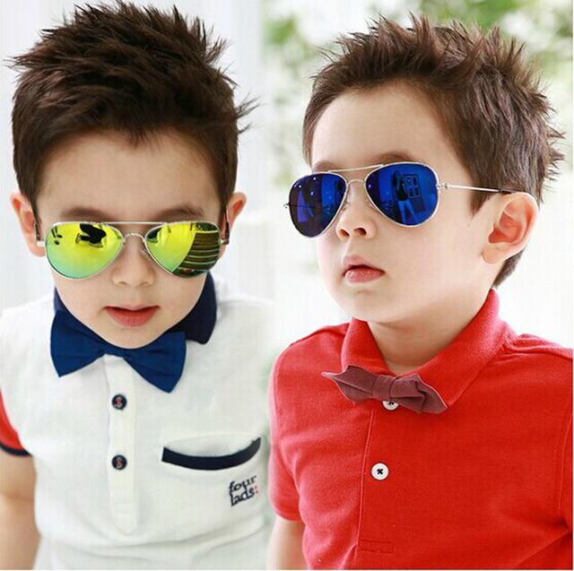 IVE Моды Детские Мальчики Детские Солнцезащитные Очки Piolt Стиль Марка Дизайн Дети Солнцезащитные Очки 100% УФ-Защита Óculos De Sol Gafas
