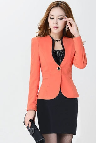 Innovative  Women Business Skirt Suits Formal Office Ladies Work Wear Car Tuning