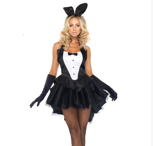 Girl clothing   BUNNY CUSTOME  women halloween cosplay costume Bar Performance costumeОдежда и ак�е��уары<br><br><br>Aliexpress