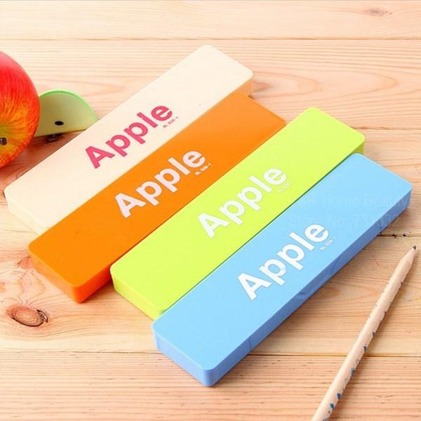 12 pcs/Lot Pen &amp; Pencil case Candy Apple design pen box Storage Zakka organizer Kawaii Stationery Office School supplies 6302<br><br>Aliexpress