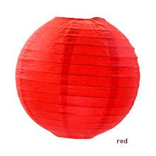 Китайский бумажный фонарь, свадьба, помолвка, детский душ, день рождения, домашние декоративные поделки бумажные шарики, лампы для спальни, ...(China)
