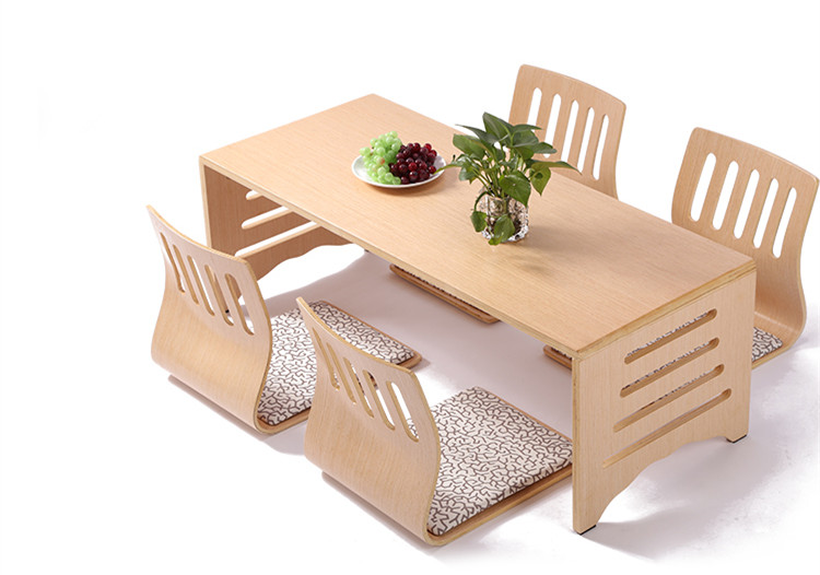 Modern japanese style dining table