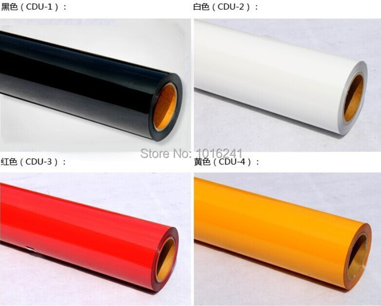 One Roll PU heat transfer Vinyl film 0.5mx25M Made in South Korea high quality Choose from 27 colors For T-shirt print(China (Mainland))