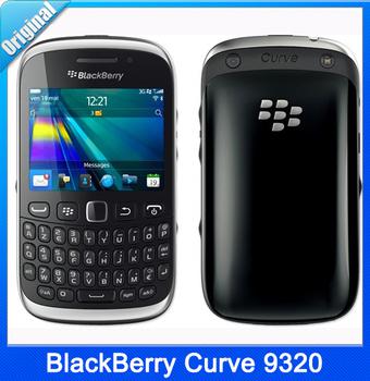 Мобильный телефон BlackBerry кривая 9320, разблокированный 3.15MP камера 2048 x 1536 пикселей ROM 512 МБ