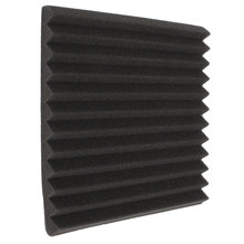Hot Sale 30X30X3CM Soundproofing Foam Studio Acoustic Foam Soundproof Absorption Treatment Panel Tile Wedge Polyurethane foam(China (Mainland))