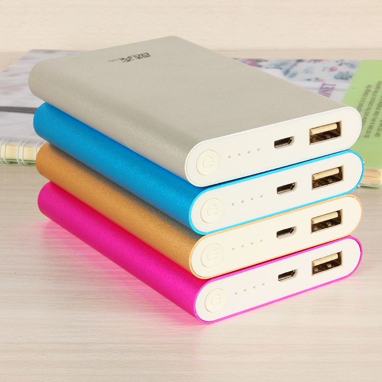 portable 11800 mAh power bank External Battery Pack charger metal powerbank for all mobile phones + led light(China (Mainland))