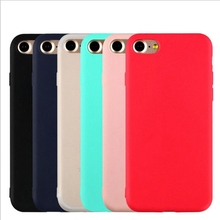 Buy iphone 7 plus iphone7 Case Ultra Thin Matte Soft TPU Silicone Case Apple iphone 5S 5 6 6s Plus Back Rubber Cover Black for $1.18 in AliExpress store