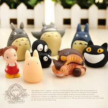Fashion Toroto Finger Toys Mini Cute Animal Finger Puppet 8 pieces/lot Free Shipping(China (Mainland))