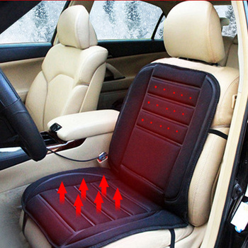 Free Shipping Car Heated Seat Cushion Cover Auto 12V Heating Heater Warmer Pad Winter Seat Cover ME3L