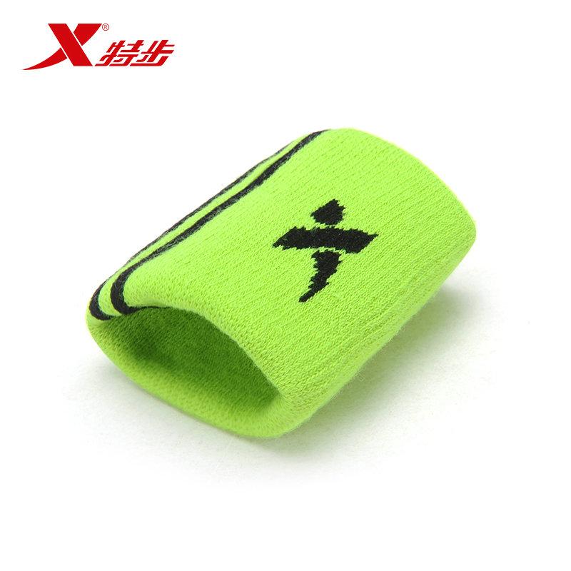 Xtep Men&Women Sport Wristband Badminton Tennis Sweatbands Elasitc Running Sports Safety Wrist 1 Piece(China (Mainland))