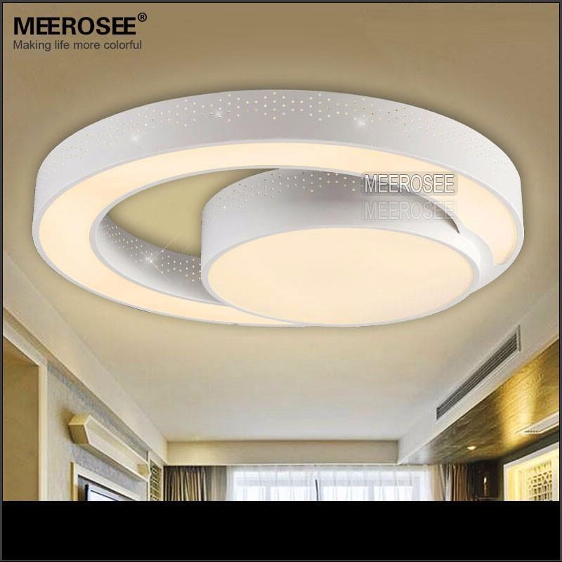 New Design Ceiling Lights : New design led ceiling lights flush mounted white