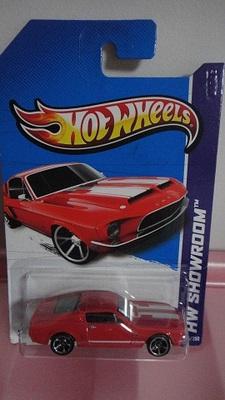 Free shipping Hot wheels GT500 Red Mustang Car Alloy Mordel Toy No.245/1(China (Mainland))