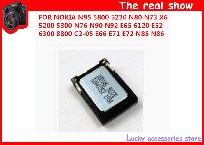 200pcs Louder Speaker Buzzer Ringer For Nokia N73 N76 N80 N90 N92 N95 E65 5300 N81 6120C 8800 5200 C2-05 5800 5230 X6 N85 N86(China (Mainland))