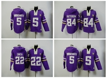 Minnesota Vikings,Teddy Bridgewater Harrison Smith Adrian Peterson Sweater hoodies(China (Mainland))