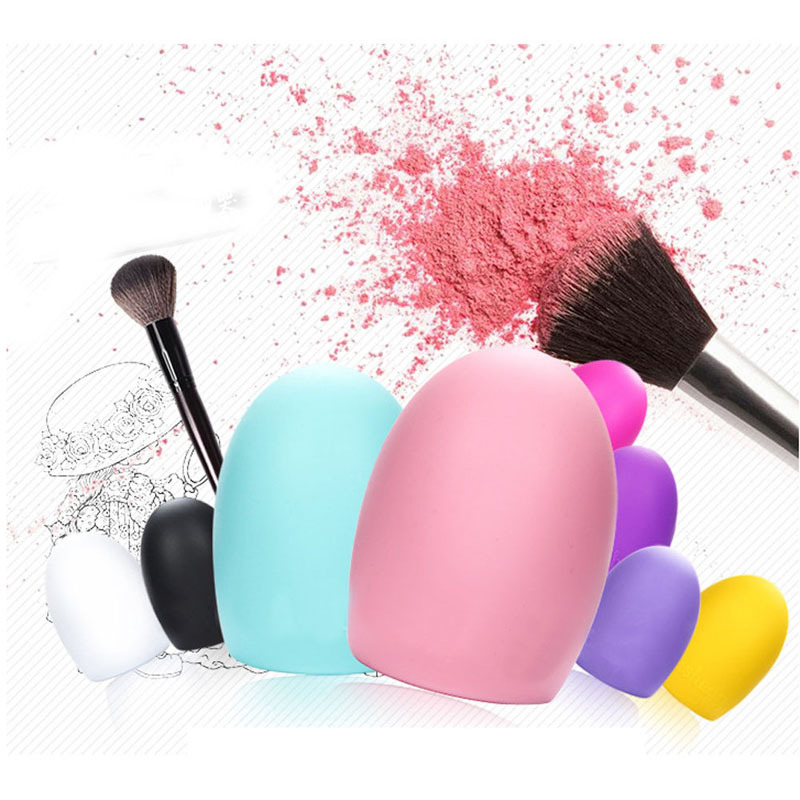 T2N2 Fashion New Cleaning Cosmetic Makeup Brush Foundation Brush Silicone Cleaner Tool(China (Mainland))