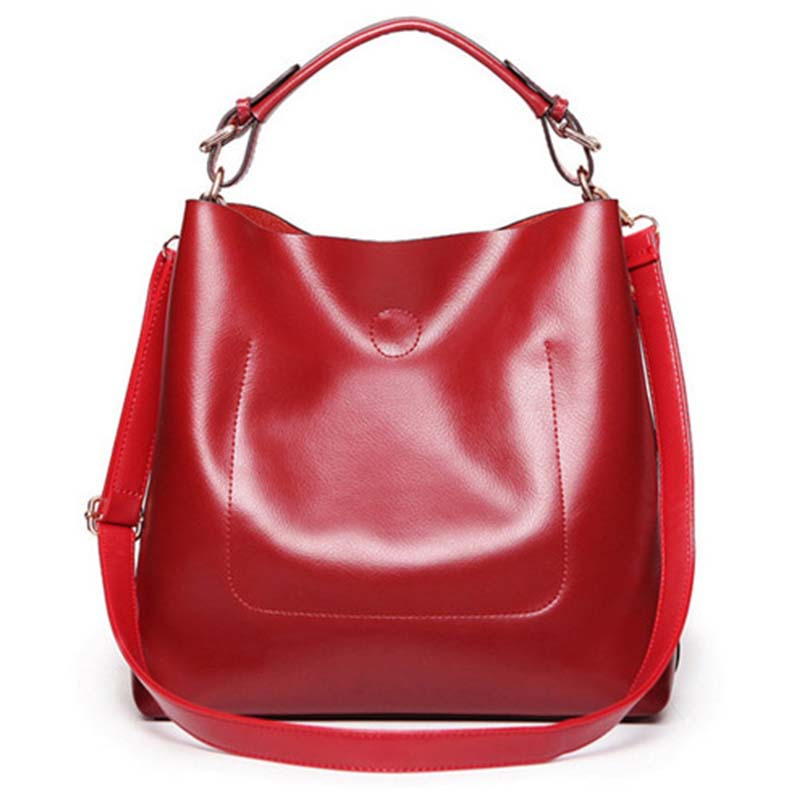 2015 Women Handbags PU Leather Shoulder Bag Popular Versatile Soft Fashion Bolsas Open Casual Tote Crossbody - Bags Trade Stars store