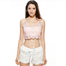 Women Lace Camisole Cropped