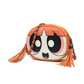 Lovely Cartoon Small Round Bag Fashion Girl Print Women Casual All match Chain Shoulder Bag Mini