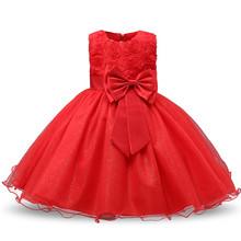 נסיכת פרח ילדה שמלת קיץ טוטו חתונה מסיבת יום הולדת ילדים שמלות עבור בנות ילדים תלבושות נער לנשף עיצובים(China)