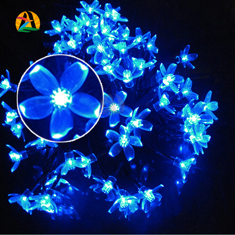 Cherry Pendant LED solar string Lights Decoration For Christmas/Party Outdoor Garden La Luce solare /22M 200 LEDs/(China (Mainland))