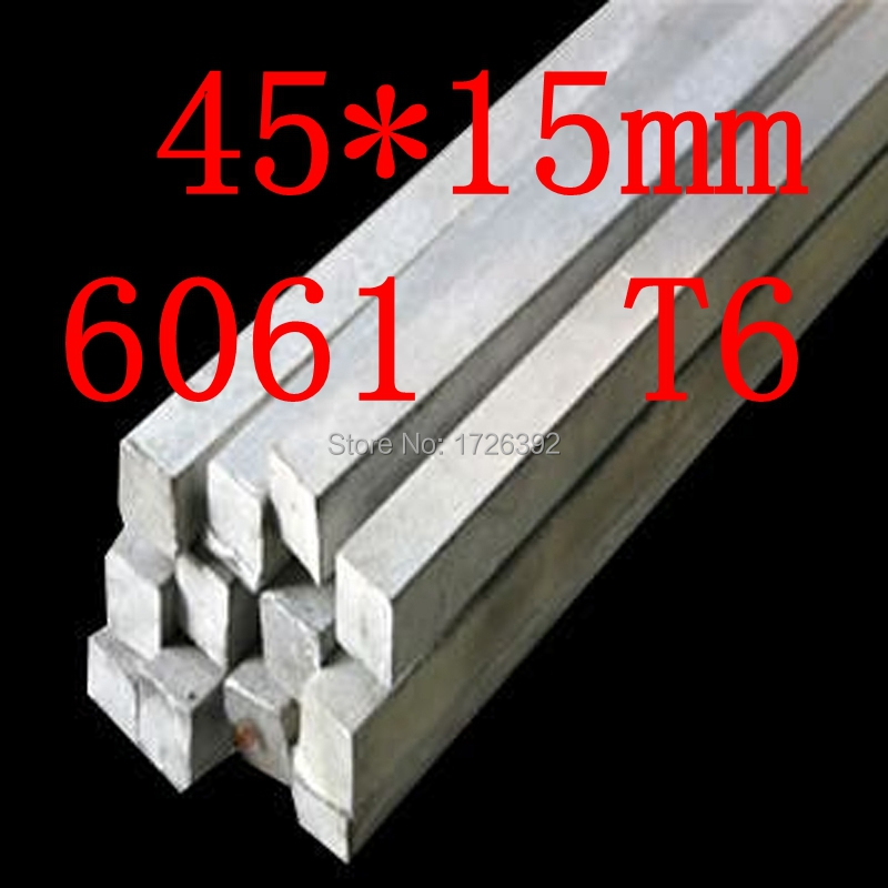 45mm x 15mm Aluminium Flat Bar,45*15mm,width 45mm,thickness 15mm,6061 T6