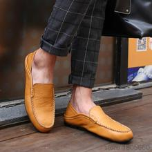 2015 New Fashion cool Men Shoes Real Genuine Leather Men s Flats Low Casual Sneakers for