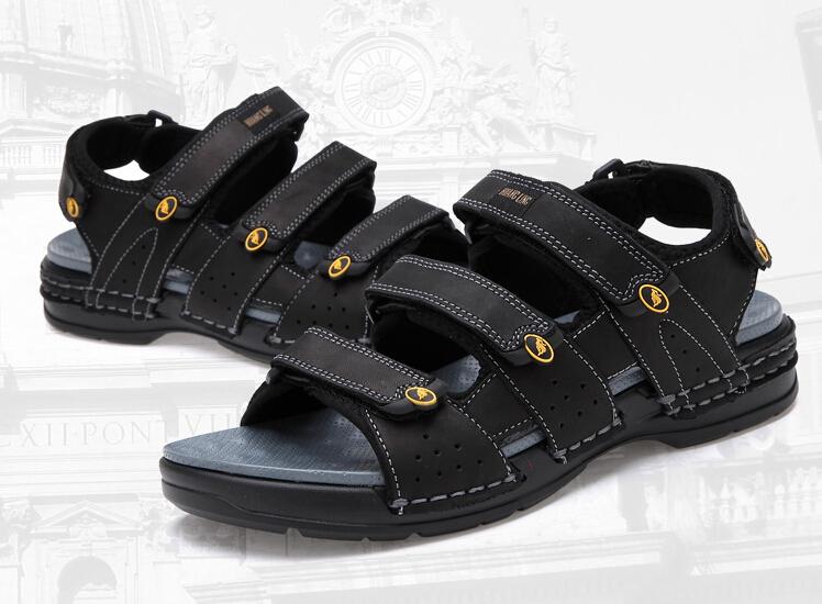 product Men sandals 2015 summer shoes mens sandals beach slippers sandalias hombre zuecos goma rubber sole open toe sandalia masculina