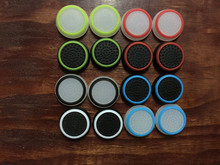 2pcs New 3D Silicone colorful Cap anti-slip Thumbsticks Joystick Caps Cover for PS 4/PS4/XBOX ONE/XBOX 360 Wireless Controllers