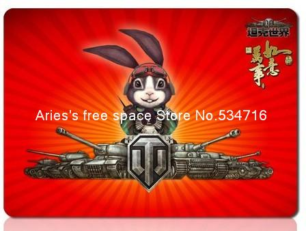 Personalized World of Tanks mousepad red cartoon cheap gaming mouse pad gamer large notbook computer mouse mat mats padmouse(China (Mainland))