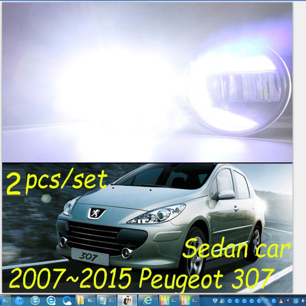 Osram LED fog light Cree Lamp Light Source Lighting Car Styling Fog Lights for Puegeot 307 2007~2015 Super Bright<br><br>Aliexpress