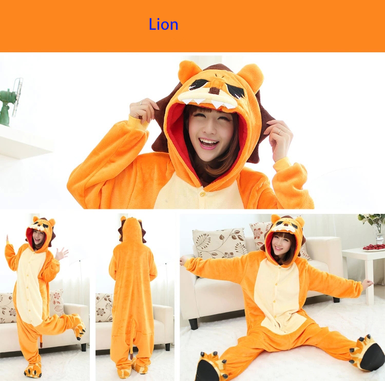 cadeaux sp ciaux pour filles gar ons dr le animaux roi lion pyjamas pour femmes pyjamas pour. Black Bedroom Furniture Sets. Home Design Ideas