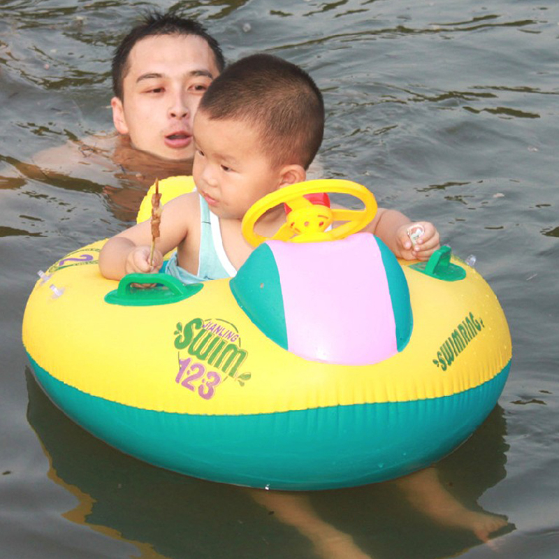 12 36 Month Inflatable Baby Swimming Ring Swim Ring Float Seat Swimming Pool Seat With Canopy In