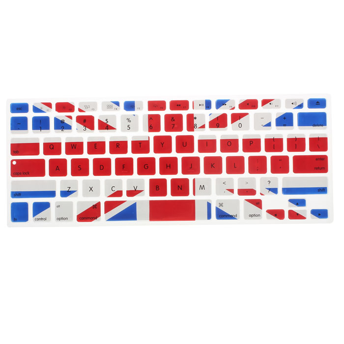 Beautiful Gift 100% Brand New Silicone Rubber Keyboard Skin for Macbook &amp; Macbook Pro (British Flag) Free Shipping Dec19<br><br>Aliexpress