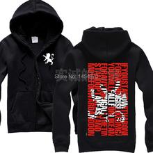 Enter Shikari Band 100%Cotton Hot Sell Rock Hoodies Autumn winter brand jacket coat shirt Skull punk death dark metal 03(China (Mainland))