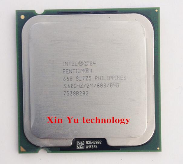 Lifetime warranty Pentium 4 660 3.6GHz desktop processors CPU Socket 775 pin LGA775 Computer(China (Mainland))