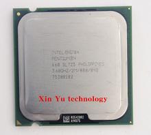 Пожизненная гарантия Pentium 4 660 3.6 ГГц настольных процессоров процессорный сокет 775 контакт. LGA775 компьютер(China (Mainland))