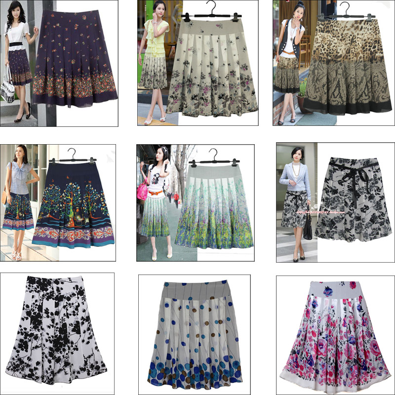 A Line Summer Skirts | Jill Dress